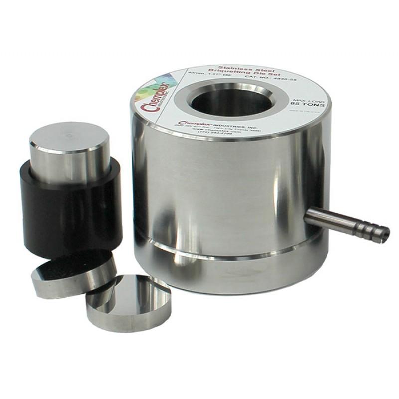 Xrf Briquetting Press Die Sets Chemplex Industries Inc