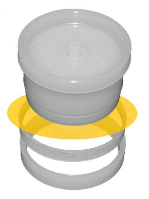 SERIES 1700: Single Open-Ended Sample Cups